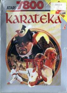 Karateka Box Scan (Front)