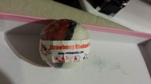 StrawberryRhubarbSoap