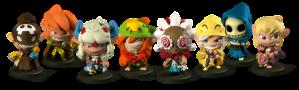 Krosmaster Characters