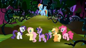 MLPFIM Everfree Forest