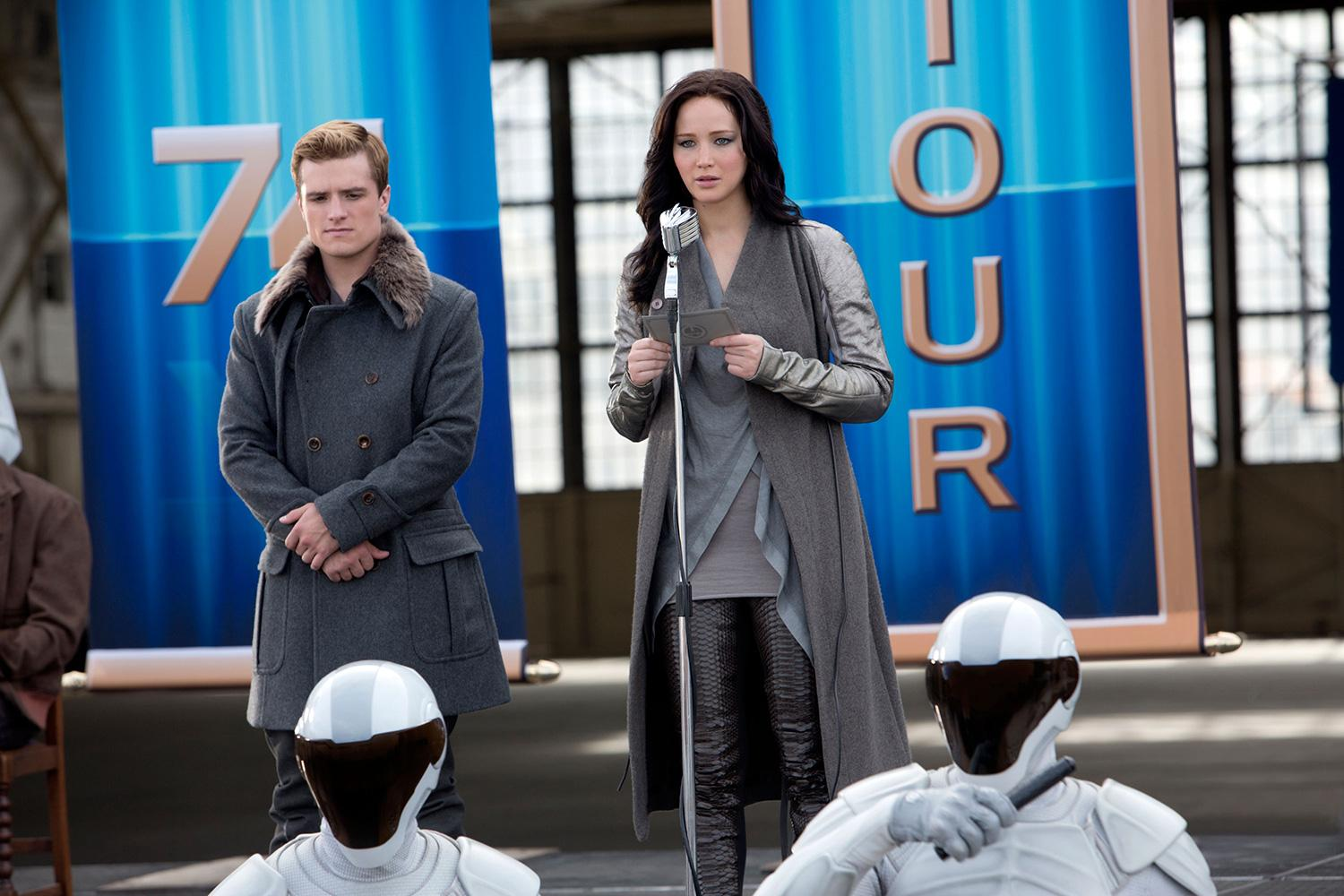 The Hunger Games Excerpt - Katniss' Catching Fire Interview - YouTube