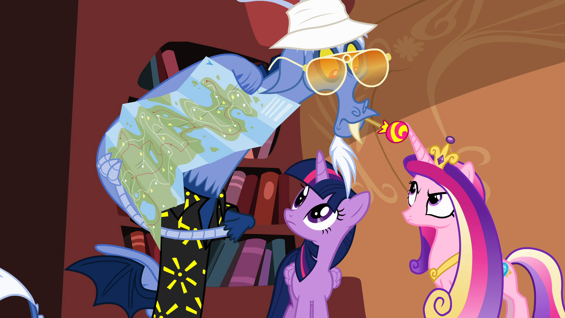 top 10 refrences in mlp fim looking for geeks